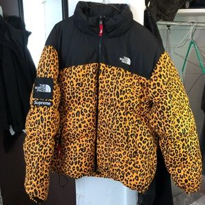 7f02fd13ca62 ... low price supreme jackets coats a supreme north face leopard jacket  14cf8 5b72b